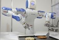 Промисловий Робот Motoman готує Окономіякі